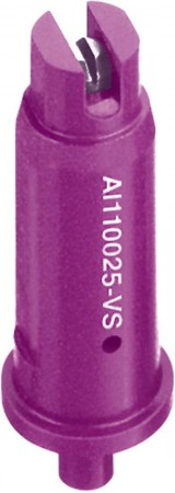 AI TeeJet Lilac Acetal-Stainless Steel Air Induction Flat Spray Tip Nozzle