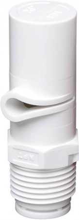 XP BoomJet White Acetal Polymer Boomless Flat Spray Nozzle