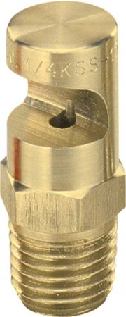 FloodJet Brass Wide Angle Flat Spray Tip Nozzle