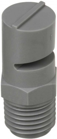 TurfJet Grey Acetal Polymer Wide Angle Flat Fan Spray Tip Nozzle