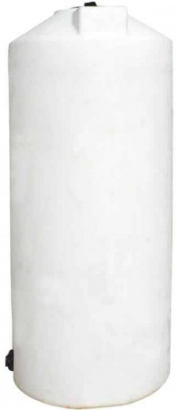 210 Gallon Plastic Vertical Storage Tank