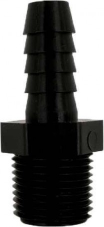 """Hose Barb Adapter Fitting - 1/2"""" MPT x 3/4"""" Hose Barb"""