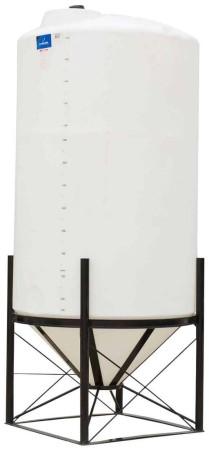 1490 Gallon Cone Bottom Tank w/ Stand