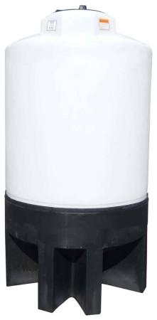500 Gallon Cone Bottom Tank w/ Stand
