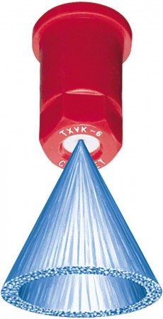 ConeJet Air Induction Hollow Cone Spray Tip Nozzles