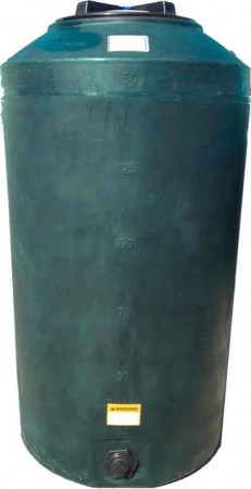 165 Gallon Plastic Water Storage Tank