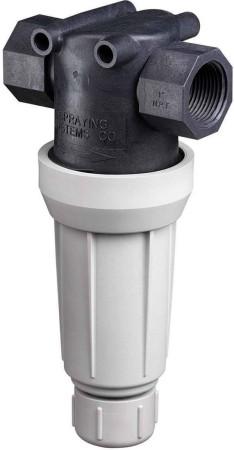 "1"" FPT Flush-Out T-Line Strainer 100 Mesh"