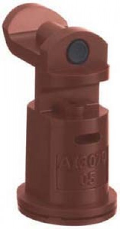 AI3070 Brown Acetal Polymer with cap/gasket Air Induction Dual Pattern Flat Spray Tip Nozzle