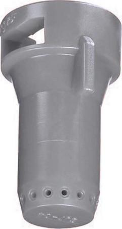 StreamJet Grey Acetal Polymer SJ7 Fertilizer Spray Nozzle