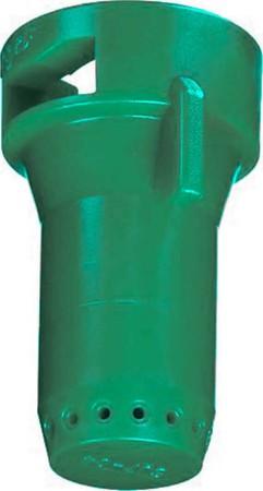 StreamJet Racing Green Acetal Polymer SJ7 Fertilizer Spray Nozzle