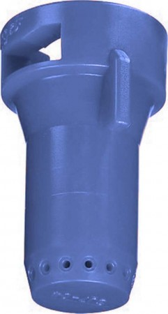 StreamJet Blue Acetal Polymer SJ7 Fertilizer Spray Nozzle