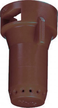 StreamJet Brown Acetal Polymer SJ7 Fertilizer Spray Nozzle