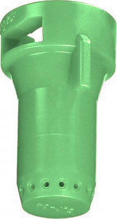 StreamJet Light Green Acetal Polymer SJ7 Fertilizer Spray Nozzle