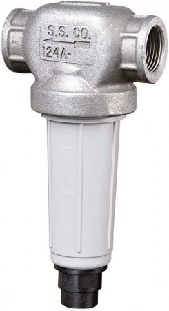 """1"""" FPT Self-Cleaning T-Line Strainer 50 Mesh"""