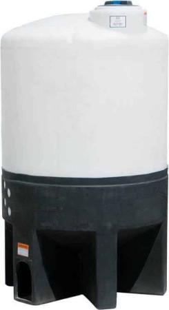 310 Gallon Cone Bottom Tank w/ Stand