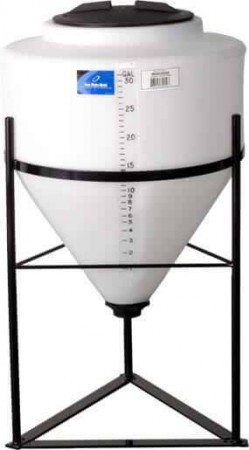 30 Gallon Inductor Cone Bottom Tank w/ Stand