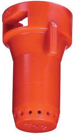 StreamJet Red Acetal Polymer SJ7 Fertilizer Spray Nozzle