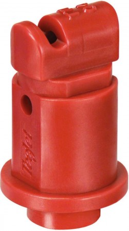 Turbo TeeJet Induction Red Acetal Polymer with cap/gasket Flat Spray Tip Nozzle