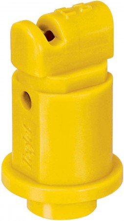 Turbo TeeJet Induction Yellow Acetal Polymer Flat Spray Tip Nozzle