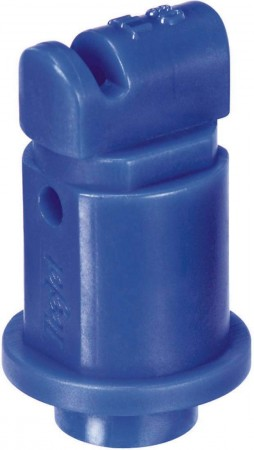 Turbo TeeJet Induction Blue Acetal Polymer with cap/gasket Flat Spray Tip Nozzle