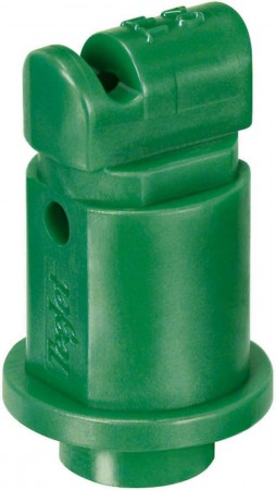 Turbo TeeJet Induction Racing Green Acetal Polymer Flat Spray Tip Nozzle