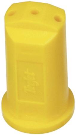 StreamJet Yellow Acetal Polymer SJ3 Fertilizer Spray Nozzle