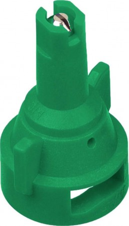 AIC TeeJet Light Green Acetal-Stainless Steel Air Induction Flat Spray Tip Nozzle
