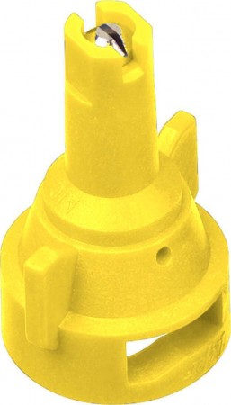 AIC TeeJet Yellow Acetal-Stainless Steel Air Induction Flat Spray Tip Nozzle