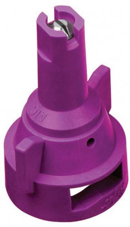 AIC TeeJet Lilac Acetal-Stainless Steel Air Induction Flat Spray Tip Nozzle