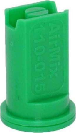 Airmix Green Polyacetal-EPDM Low Pressure Spray Nozzle