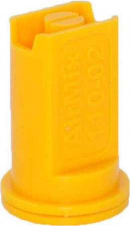 Airmix Yellow Polyacetal-EPDM Low Pressure Spray Nozzle