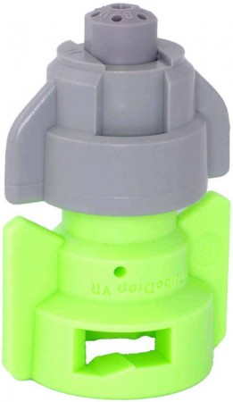 TurboDrop Black/Lime Green Polyacetal-SS-EPDM Variable Rate Fertilizer Spray Nozzle