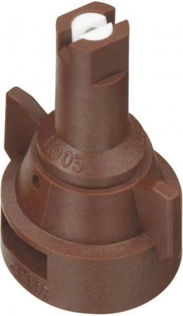 AIC TeeJet Brown Acetal-Ceramic Air Induction Flat Spray Tip Nozzle