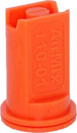 Airmix Orange Polyacetal-EPDM Low Pressure Spray Nozzle