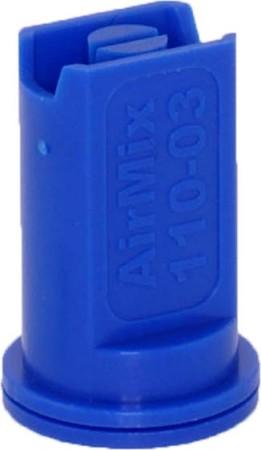 Airmix Blue Polyacetal-EPDM Low Pressure Spray Nozzle