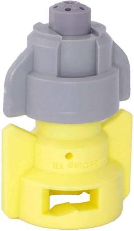 TurboDrop Black/Yellow Polyacetal-SS-EPDM Variable Rate Fertilizer Spray Nozzle