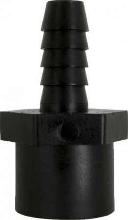"""Hose Barb Adapter Fitting - 1/4"""" FPT x 3/8"""" Hose Barb"""