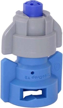 TurboDrop Gray/Blue Polyacetal-SS-EPDM Variable Rate Fertilizer Spray Nozzle