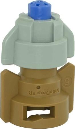 TurboDrop Black/Brown Polyacetal-SS-EPDM Variable Rate Fertilizer Spray Nozzle