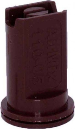 Airmix Brown Polyacetal-EPDM Low Pressure Spray Nozzle