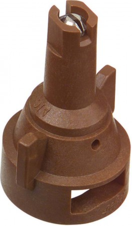 AIC TeeJet Brown Acetal-Stainless Steel Air Induction Flat Spray Tip Nozzle