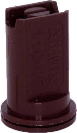 Airmix Brown Polyacetal-EPDM Low Pressure Spray Nozzle