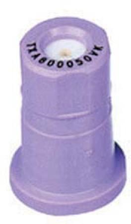 ConeJet Lilac Acetal-Ceramic Ceramic VisiFlo Spray Tip Nozzle