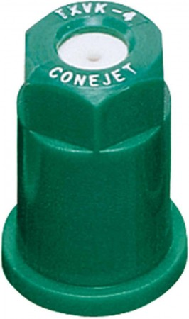 ConeJet Racing Green Acetal-Ceramic VisiFlo Hollow Cone Spray Tip Nozzle