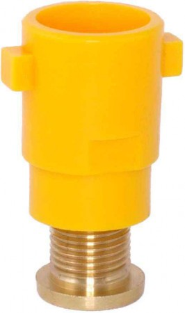 TurboDrop Venturi Orange Polyacetal-Ceramic High Pressure Universal Ceramic Spray Nozzle