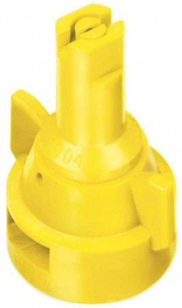 AIC TeeJet Yellow Acetal Polymer Air Induction Flat Spray Tip Nozzle