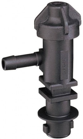 """3/8"""" Hose Barb 1 Outlet QJ300 Single Nozzle Body for Dry Applications"""