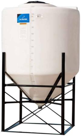 240 Gallon Cone Bottom Tank w/ Stand