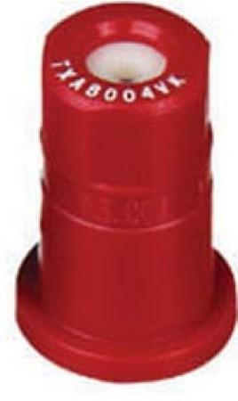 ConeJet Red Acetal-Ceramic Ceramic VisiFlo Spray Tip Nozzle
