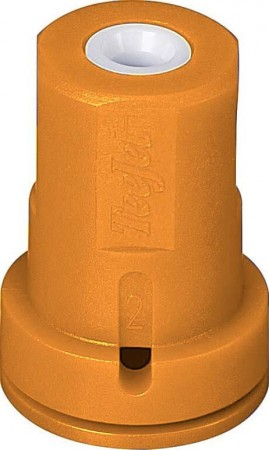 AITX ConeJet Orange Acetal-Ceramic Air Induction Hollow Cone Spray Tip Nozzle